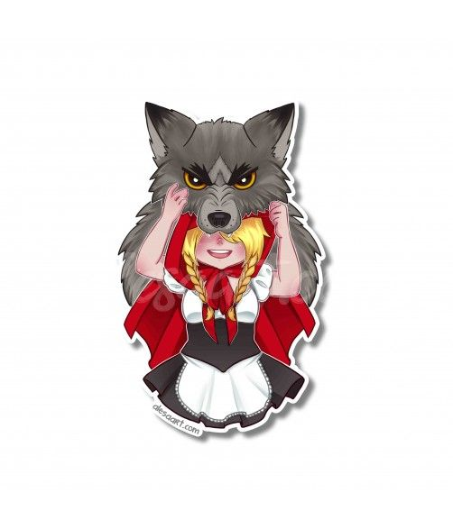 CHIBI Little Red Riding Hood